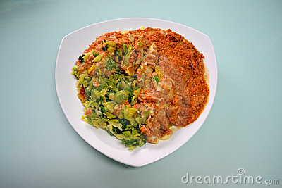 Cabbage and Minced Meat Dish