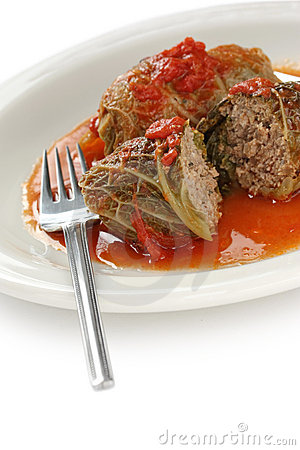 Cabbage roll , stuffed cabbage
