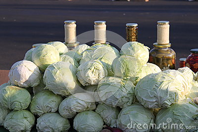 Cabbages and pickles
