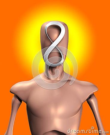 A cabeça da infinidade