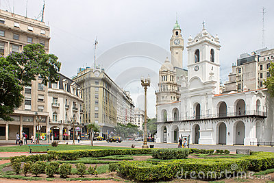 Cabildo de Buenos Aires Editorial Stock Photo