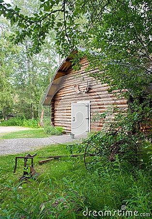 Cabin Shop Backyard Alaska Outback Architecture