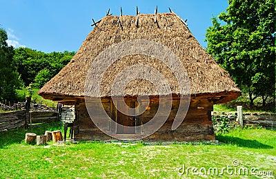 Cabin of poor peasant