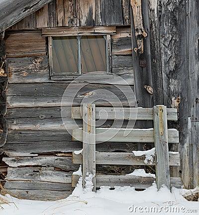 Cabin Window in Norway