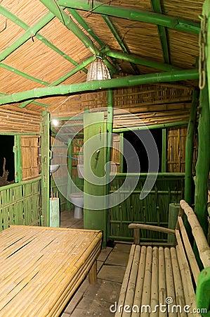 Cabina de madera con muebles en la india foto de archivo imagen 45614836 - Muebles de la india ...