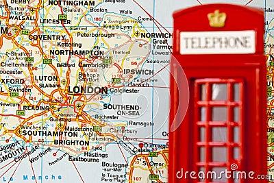 Cabina di telefono rossa di londra immagini stock for Piani di cabina della torre di fuoco
