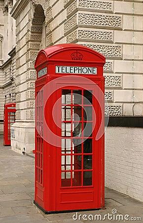 Cabine de téléphone de Londres