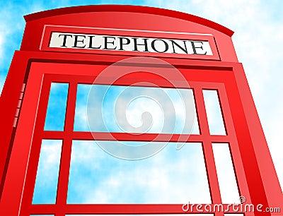 Cabine téléphonique britannique