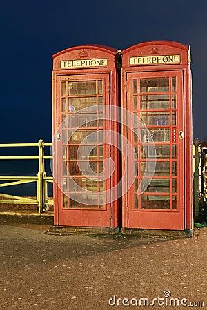 Cabines de téléphone anglaises