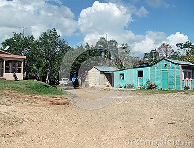 Cabins at Dominican Republic
