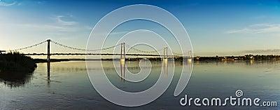 Cable Bridge - Panoramic View