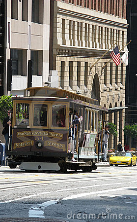 Cable car Editorial Stock Photo