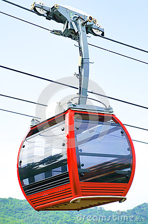 Free Cable Car Royalty Free Stock Photo - 41949325
