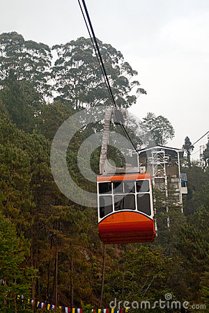 Free Cable Car Royalty Free Stock Photo - 56820585