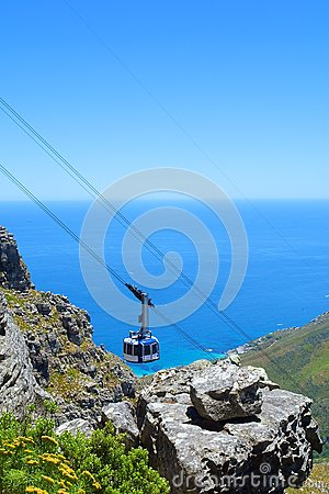 Cable car cabin