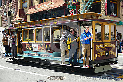 Cable Car Editorial Photography