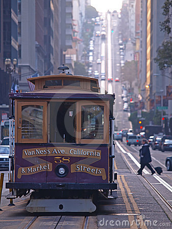 Free Cable Car Of San Francisco Royalty Free Stock Photo - 12409075