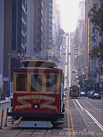 Free Cable Car Of San Francisco Royalty Free Stock Images - 12409079