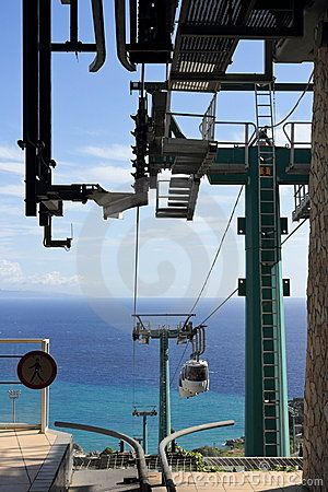 Cable Car in Taormina