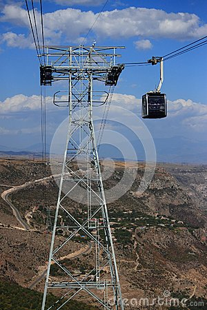 Free Cable Car Wings Of Tatev Royalty Free Stock Images - 46239049