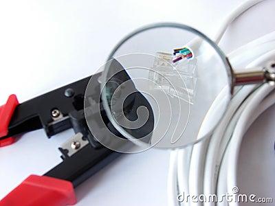 Cable crimper&cables