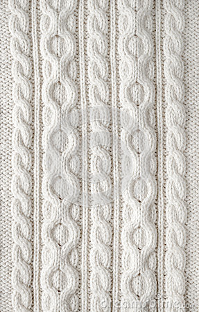 Cable Knit Fabric Background Stock Photo Image 43286187
