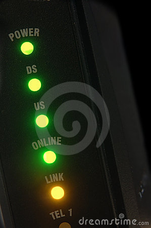 Free Cable Modem Royalty Free Stock Photography - 1720857