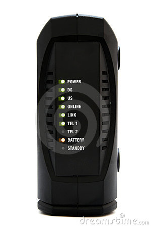 Free Cable Modem Royalty Free Stock Image - 1859576