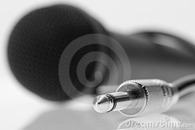 Cable plug of professional microphone