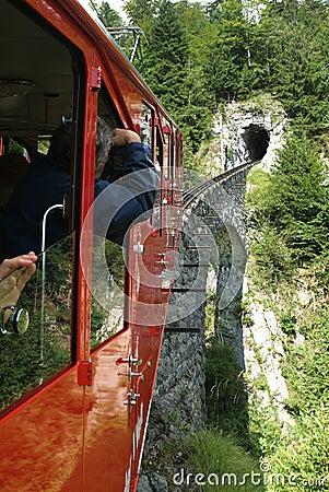 Free Cable Railway Of Mount Pilatus Stock Photos - 26536403