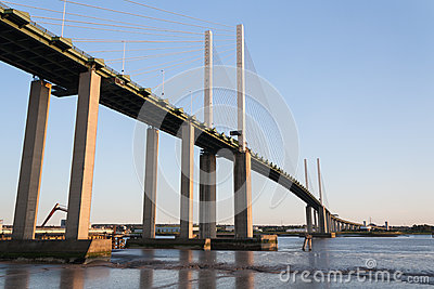 Dartford crossing UK QE2 Bridge
