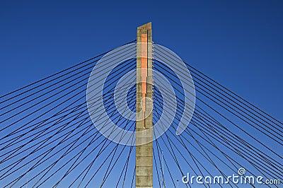 Cable-stayed bridge, Martinus Nijhoffbrug