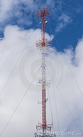 Cable Supported Communications Tower