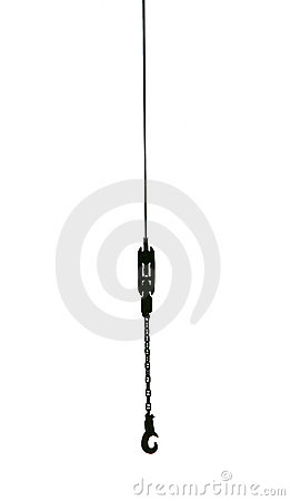 Free Cable With A Hook. Royalty Free Stock Photography - 4483167