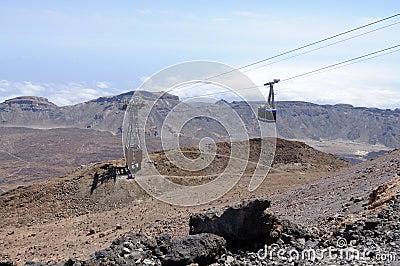 Cablecar to Pico de Teide, Tenerife