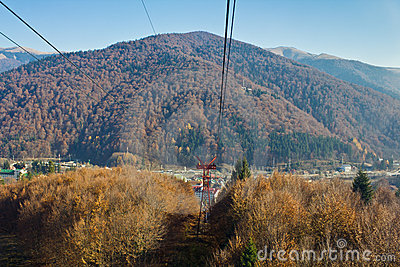 Cableway line