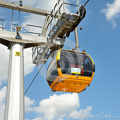 Cableway Editorial Stock Image