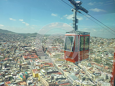 Cableway Editorial Stock Photo