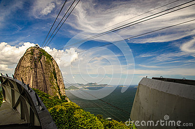 Cableway to Sugarloaf Mountain