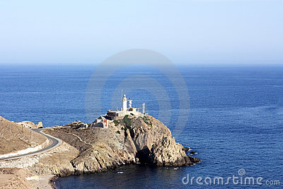 Cabo de Gata. Lighthouse