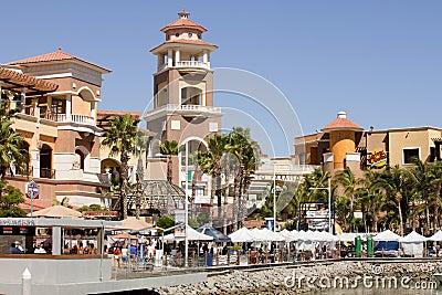 Cabo San Lucas Marina Editorial Stock Image