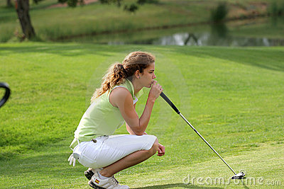Cabrera, Ladies European Tour, Castelllon, 2006 Editorial Stock Image