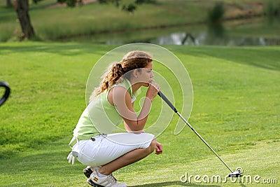 Cabrera, Ladies European Tour, Castelllon, 2006 Editorial Stock Image