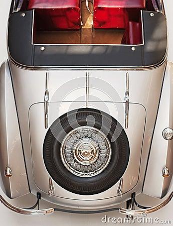Cabriolet achterdeel