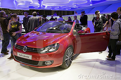 Cabriolet di golf Immagine Editoriale
