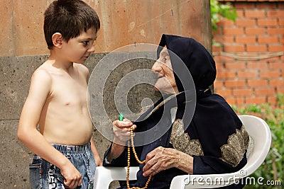 Cabrito y abuelita