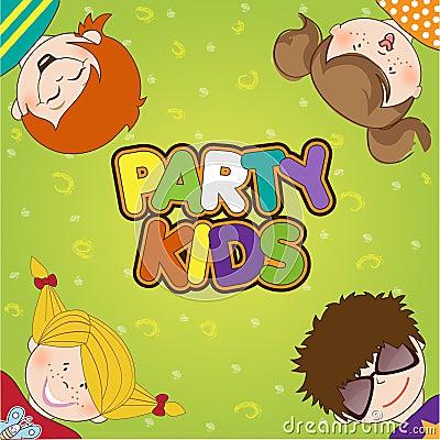 Cabritos que celebran la fiesta de cumpleaños