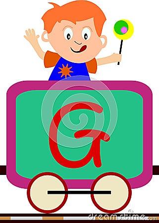 Cabritos y serie del tren - G