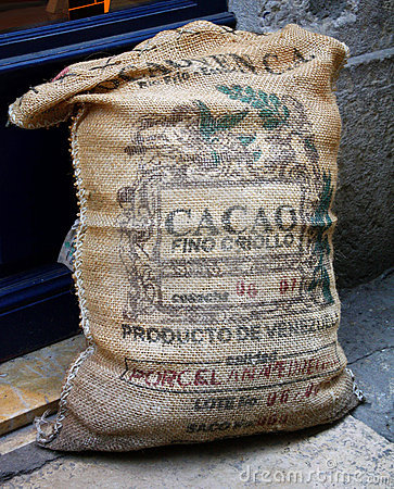 Cacao Bag Royalty Free Stock Photo - Image: 17319555