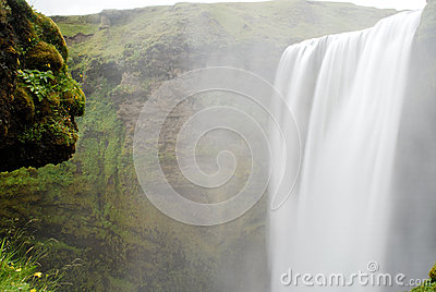 Cachoeira de Skogafoss, Islândia
